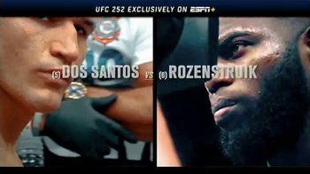 ESPN+ TV Spot, 'UFC 252: Dos Santos vs. Rozenstruik' - Thumbnail 10