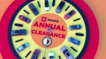 Toyota Annual Clearance TV Spot, 'Clock Is Ticking' [T2] - Thumbnail 1