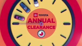 Toyota Annual Clearance TV Spot, 'Clock Is Ticking' [T2] - Thumbnail 6