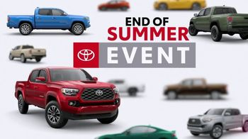 Toyota End of Summer Event TV Spot, 'The Truck You've Been Working For' [T2] - Thumbnail 1