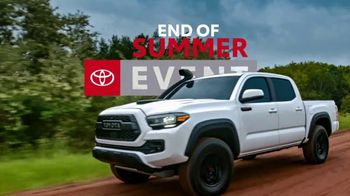 Toyota End of Summer Event TV Spot, 'The Truck You've Been Working For' [T2] - Thumbnail 2
