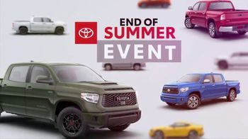 Toyota End of Summer Event TV Spot, 'The Truck You've Been Working For' [T2] - Thumbnail 6