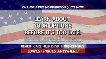 Health Care Help Desk TV Spot, 'Options' - Thumbnail 10