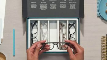 Warby Parker TV Spot, 'Home Try-On: Prescription Lenses' - Thumbnail 8