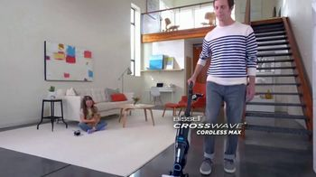 Bissell Crosswave Cordless Max TV Spot, 'Cordless Freedom' - Thumbnail 1
