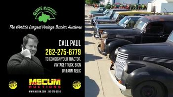 Mecum Gone Farmin' Auctions TV Spot, 'Call Paul' - Thumbnail 2