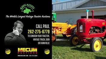 Mecum Gone Farmin' Auctions TV Spot, 'Call Paul' - Thumbnail 3