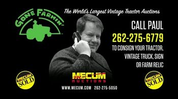 Mecum Gone Farmin' Auctions TV Spot, 'Call Paul' - Thumbnail 4