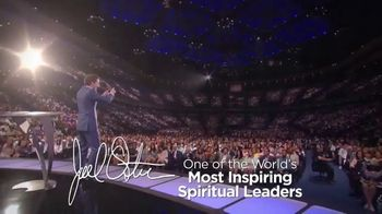 Joel Osteen's Be Inspired Inspiration Cube TV Spot, 'Uncertain Times'
