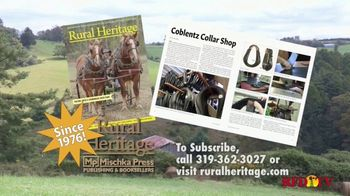 Rural Heritage Magazine TV Spot, 'RFD: Farming and Logging' - Thumbnail 9