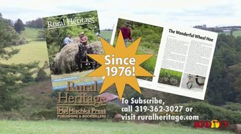 Rural Heritage Magazine TV Spot, 'RFD: Farming and Logging' - Thumbnail 6
