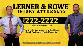 Lerner and Rowe Injury Attorneys TV Spot, 'Entitled to Money' - Thumbnail 8