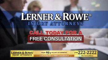 Lerner and Rowe Injury Attorneys TV Spot, 'Entitled to Money' - Thumbnail 7
