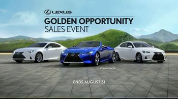 Lexus Golden Opportunity Sales Event TV Spot, 'Performance: Day Trips' [T1] - Thumbnail 10