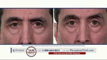 Plexaderm Skincare Labor Day Special TV Spot, 'See it Work: $14.95'