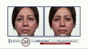 Plexaderm Skincare Labor Day Special TV Spot, 'See it Work: $14.95' - Thumbnail 5