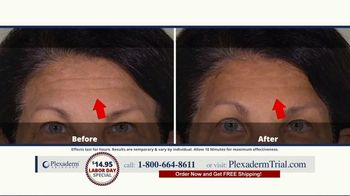 Plexaderm Skincare Labor Day Special TV Spot, 'See it Work: $14.95' - Thumbnail 7