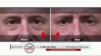 Plexaderm Skincare Labor Day Special TV Spot, 'See it Work: $14.95' - Thumbnail 8