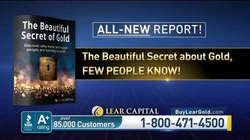 Lear Capital TV Spot, 'The Beautiful Secret of Gold'