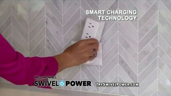 Swivel Power TV Spot, 'Compact Charging Station'