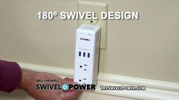 Swivel Power TV Spot, 'Compact Charging Station' - Thumbnail 4
