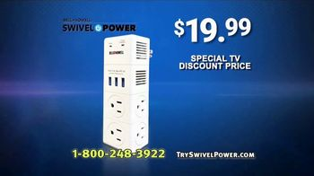 Swivel Power TV Spot, 'Compact Charging Station' - Thumbnail 9