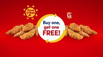GetGo TV Spot, 'Summer of Freebies: Chicken Strips, Cheese Curds, Coke Energy and Body Armor'