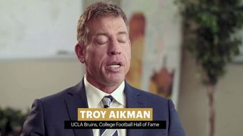 College Football Playoff Foundation TV Spot, 'Extra Yard for Teachers: Jean' Featuring Troy Aikman