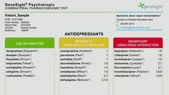 GeneSight TV Spot, 'Antidepressant Genetic Testing' - Thumbnail 4