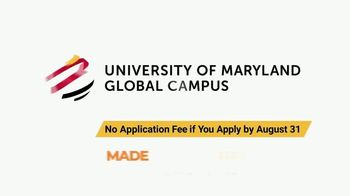 University of Maryland Global Campus TV Spot, 'Online Education, Made for You' - Thumbnail 9