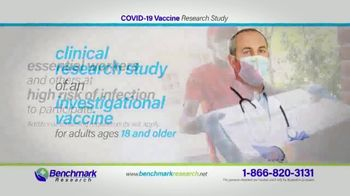 Benchmark Research TV Spot, 'COVID-19 Vaccine Research Study' - Thumbnail 4