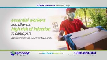 Benchmark Research TV Spot, 'COVID-19 Vaccine Research Study' - Thumbnail 5