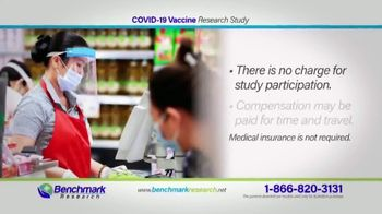 Benchmark Research TV Spot, 'COVID-19 Vaccine Research Study' - Thumbnail 6
