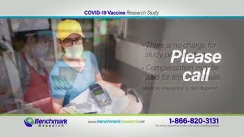 Benchmark Research TV Spot, 'COVID-19 Vaccine Research Study' - Thumbnail 7