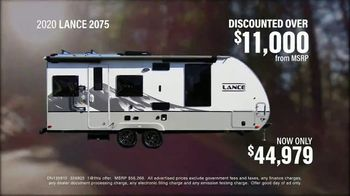 La Mesa RV TV Spot, 'Think: 2020 Lance 2075' - Thumbnail 8
