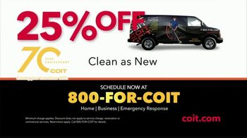 COIT TV Spot, 'Disinfect and Deep Clean: 25 Percent Off' - Thumbnail 10