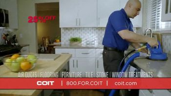 COIT TV Spot, 'Disinfect and Deep Clean: 25 Percent Off' - Thumbnail 4