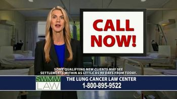 SWMW Law TV Spot, 'Diagnosed With Lung Cancer' - Thumbnail 9