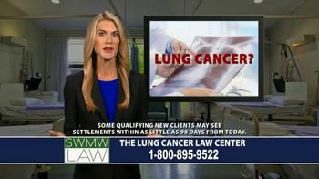 SWMW Law TV Spot, 'Diagnosed With Lung Cancer' - Thumbnail 1