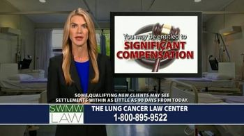 SWMW Law TV Spot, 'Diagnosed With Lung Cancer'