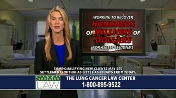 SWMW Law TV Spot, 'Diagnosed With Lung Cancer' - Thumbnail 4