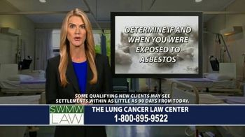 SWMW Law TV Spot, 'Diagnosed With Lung Cancer' - Thumbnail 8