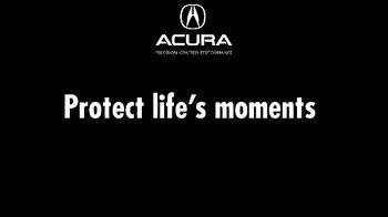 Acura TV Spot, 'Protect Life's Moments' [T2] - Thumbnail 1