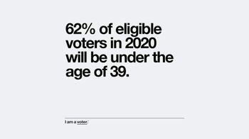 Entertainment Industry Foundation TV Spot, 'I Am a Voter: Voters Under the Age of 39' - Thumbnail 5