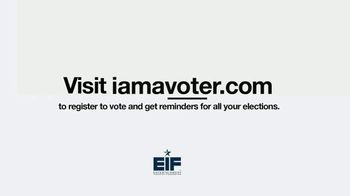 Entertainment Industry Foundation TV Spot, 'I Am a Voter: Voters Under the Age of 39' - Thumbnail 8