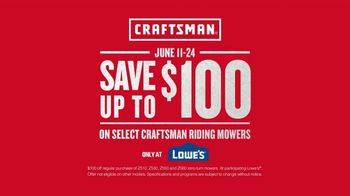 Craftsman TV Spot, 'Finished Project: Save $100' - Thumbnail 9