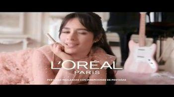 L'Oreal Paris Cosmetics Voluminous Lash Paradise TV Spot, 'Volumen voluptuoso' con Camila Cabello [Spanish]