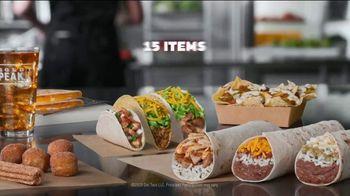 Del Taco Del's Dollar Deals Menu TV Spot, 'By the Numbers' - Thumbnail 9