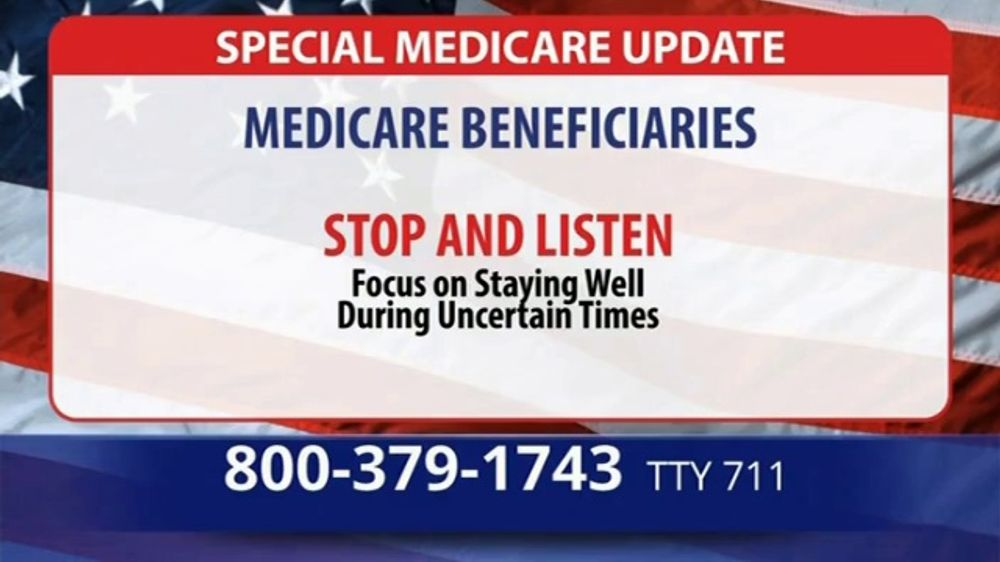 Medicare Advantage Hotline TV Commercial, 'Special Update: Save up to $1,200'