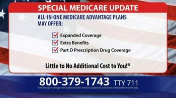 Medicare Advantage Hotline TV Spot, 'Special Update: Save up to $1,200' - Thumbnail 3